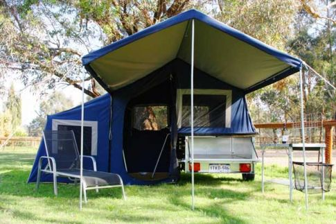 C&er-GetawayPlus1. ... & Perths lightest and most compact camper trailer