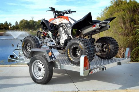 Erde 751 set up for quad bike
